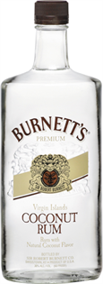 Burnett's Rum Coconut 750ml - Case of 12